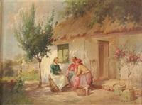 a summer idyll by agoston acs