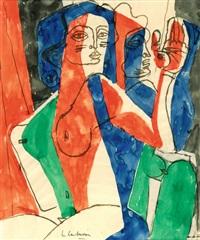 deux femmes by le corbusier