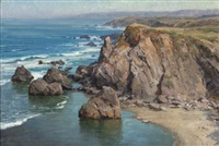 the headlands - calif., carmel by clyde aspevig