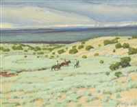 along the rio grande by ernest martin hennings