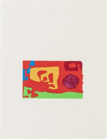 abstract composition by patrick heron