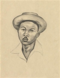 untitled (portrait #2) by whitfield lovell