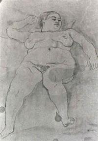 modella nuda by scipione (gino bonichi)