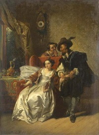the physician's visit by casimir van den daele