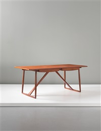 rare desk by ejnar larsen and aksel bender madsen