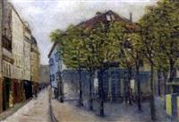 le théâtre de l'atelier, montmartre, paris by c. gay