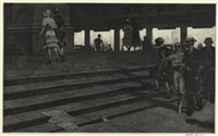 cathedral steps by martin lewis