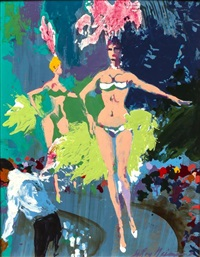 vegas bar by leroy neiman