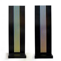 colonne chromatique by carlos cruz-diez