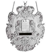 a torah shield by karl krepinsky