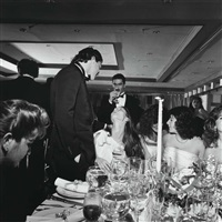 wedding, long central neck, n.y.c., dec by larry fink