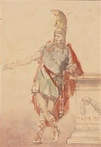 römischer soldat by josé tapiro y baro