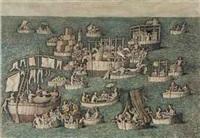 la flotta napoletana by domenico gnoli