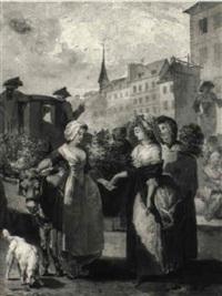 la marchande de fleurs by antoine louis françois sergent-marceau
