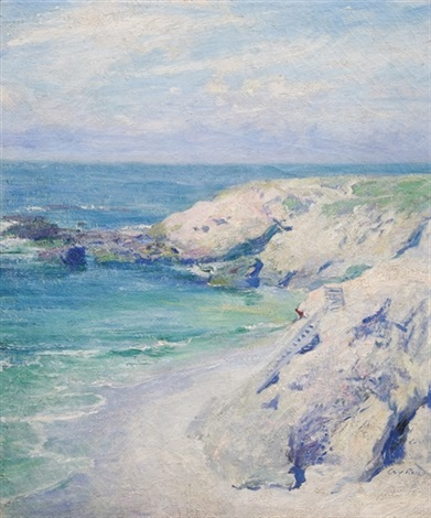 la jolla cove by guy rose