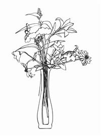 wild flower bouquet by tom wesselmann