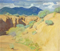 out in the desert by ernest martin hennings