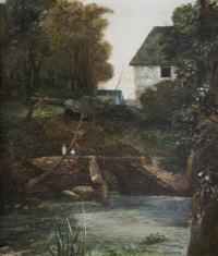 mill stream by jack cudworth