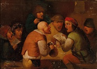 zechende bauern im wirtshaus by pieter brueghel the younger