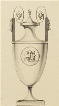 un vase à deux anses by jean guillaume moitte