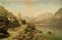jezioro genewskie by fritz chwala