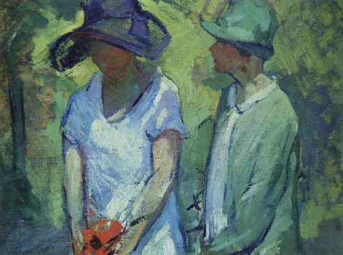 study for strollers by gertrude fiske