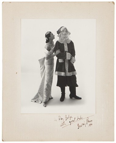 dorian leigh and ray bolger by irving penn