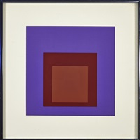 palatial (from soft edge hard edge) by josef albers