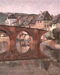 reflet du pont by rene fontayne