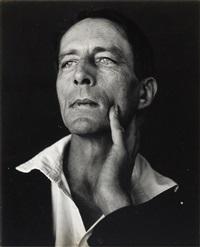 portrait of the poet robinson jeffers by edward weston