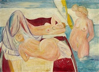bain de soleil by maurice barraud