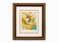 the angel of judgment by marc chagall