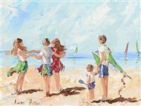 green kite by lorna millar