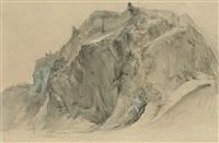 the castle rock, edinburgh by john ruskin