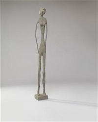 standing woman by will ryman