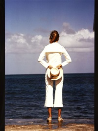 etude de mode (vogue, paris) by guy bourdin