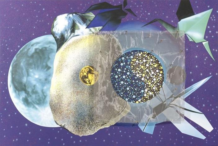 lunaire (diptych) by james rosenquist