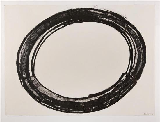 double ring ii by richard serra
