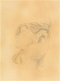 jeune femme by miklos melocco