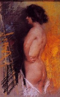 desnudo de espaldas by antonio gimeno