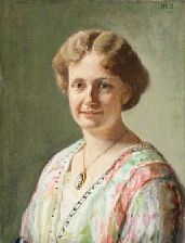 portrait of else guldberg by michael peter ancher