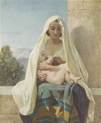 maternal love by frederick goodall