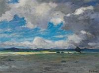 southwestern landscape by albert lorey groll