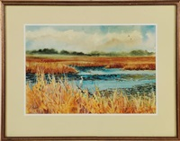 marsh scene by virginia fouche bolton