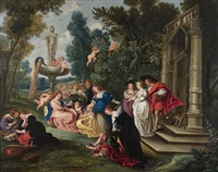 love garden by hans jordaens iii
