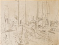 le port by raoul dufy