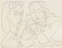 my mother, paloma and myself by françoise gilot