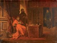 richelieu dans son cabinet by jean paul laurens