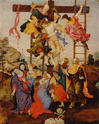 the descent from the cross by niccolò (cartoni) zoccolo
