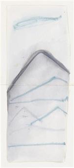 montanha azul by mira schendel